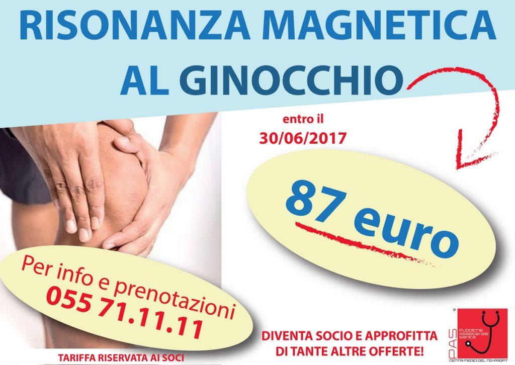 Risonanza Magnetica al Ginocchio c/o Rete PAS